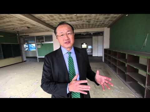 World Bank President joins Japan in calling for improved disaster risk management