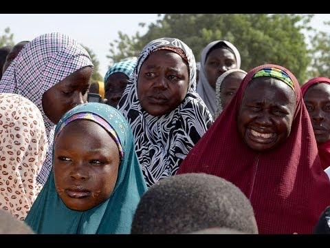 Barack Obama save the little black girls in Nigeria