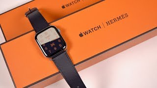 Unboxing a $1,400 Apple Watch: Hermes Experience (Series 4)