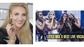 Vocal Coach Reaction Little Mix Best Live Vocals