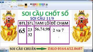 SOI CẦU CHỐT SỐ . 11.9/SOI CAU CHUAN/SOI CAU DINH CAO/SOI CAU SIEU CHUAN