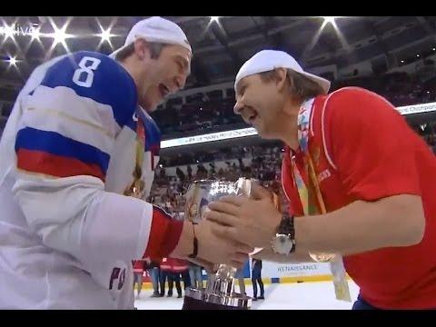 ЧМ по хоккею 2014. Все голы всех матчей сборной России.