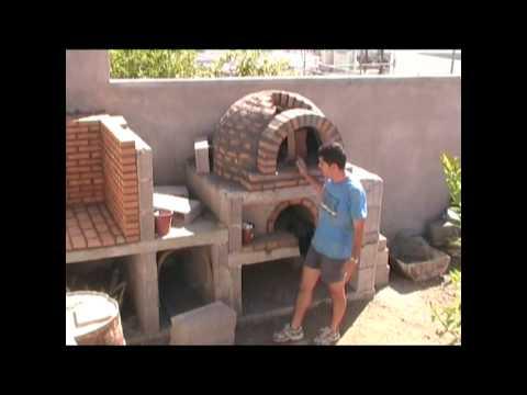 Horno de le a de la familia p rez alonso 2 parte con - Como hacer horno de lena ...