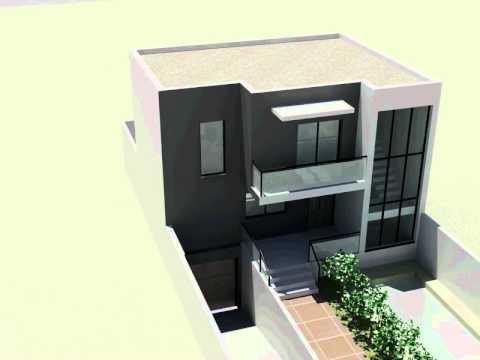 Vivienda unifamiliar en andujar 120 m2 s tano youtube for Casas modernas 120m2