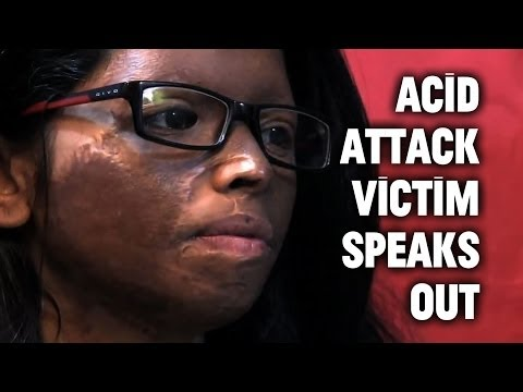 Extraordinary Courage: Acid Attack Victim Speaks Out