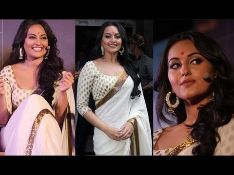 Sonakshi Sinha In Sexy Deep Blouse