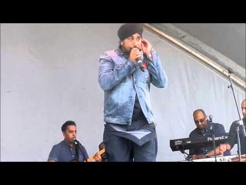 Jassi Sidhu Performance At Newcastle Mela 2014 Part 1