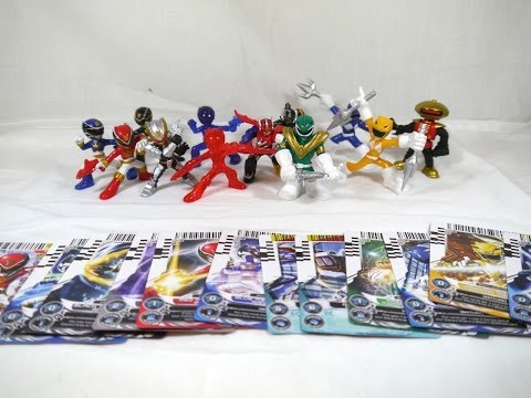 Review: Mini Battle-Ready Figures Series 2 (Power Rangers Megaforce)