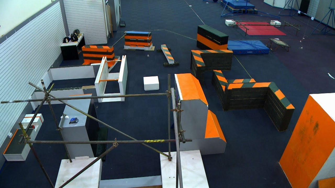 how to build a parkour gym at home