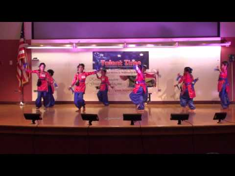 Rang De Basanti... First Prize winning Group Dance by Mythili and Team.
