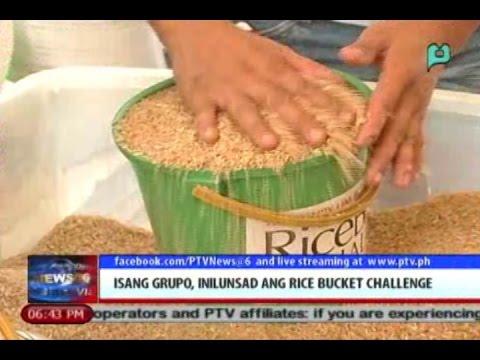 News@6: Isang grupo, inilunsad ang 'Rice Bucket Challenge' || Sept. 12, 2014
