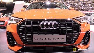 2019 Audi Q3 45 TFSI Quattro - Exterior and Interior Walkaround - Debut at 2018 Paris Motor Show