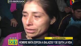 Puente Piedra: sujeto mata a su esposa y luego se quita la vida