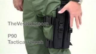 P90 Leg Pouch   Tactical Ammo Pouch