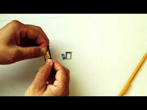 Micro Sim Card to fit in iPhone 3G