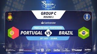 #Handtastic | PR - Group C | Portugal : Brazil