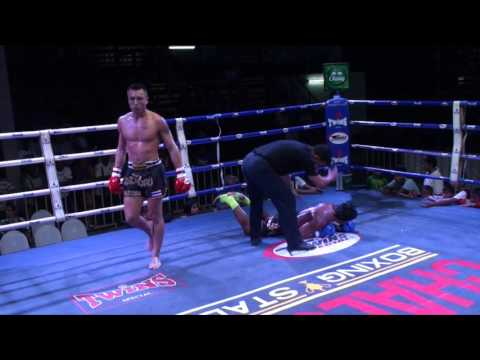 Sebastian (Tiger Muay Thai) vs Phetlookyod Aor Sararat @ Chalong Boxing Stadium 2/2/16