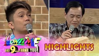 It's Showtime Magpasikat 2018: Vhong Navarro requests Gus Abelgas to read a letter