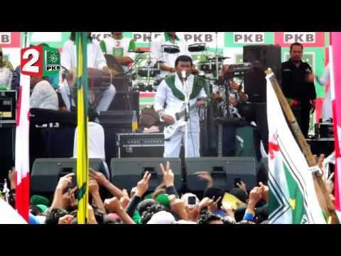 Kampanye Nasional PKB Jakarta 2014 - Rhoma Irama - Adu Domba & Doa oleh K.H. Abu Hanifah Thoyib