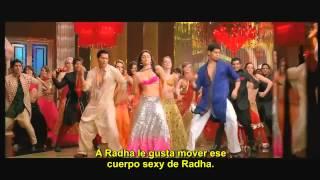 ▶ Radha   Español Subtitulado   Student of the Year   YouTube 720p