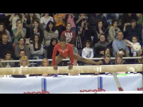 Simone Biles (USA) 2013 Jesolo - BB EF, 1st place 15.10