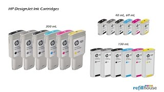 HP Designjet Ink Magictube Refill - HP 70, 72, 727, 728, 130mL/250