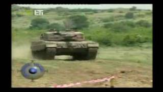 Greek Army Leopard 2A4 Tank