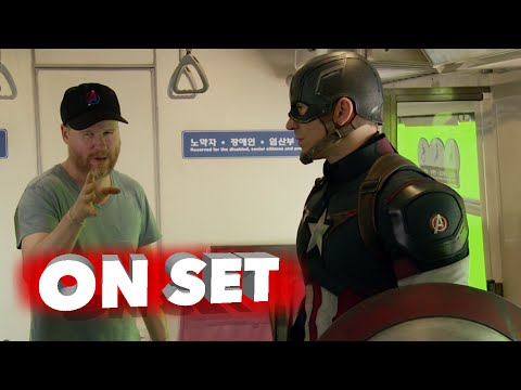 Marvel's Avengers: Age of Ultron: Behind the Scenes Movie Broll - Robert Downey Jr., Chris Evans