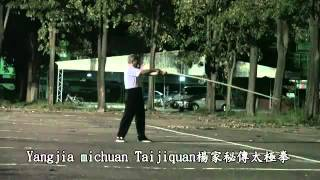 Yangjia Michuan Taijiquan of The Taiwan臺南楊家秘傳太極拳13桿