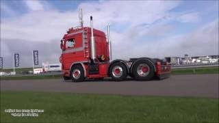 Oldskool Scania v8 loud Pipes sound Film Mix  - Truckstar Festival 2016
