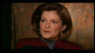Janeway on Torres, Barge of the Dead