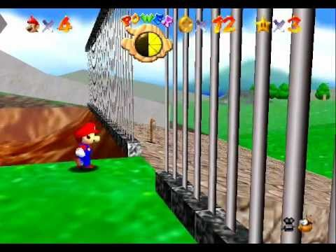 Super Mario 64 - Super Mario 64 Video Tutorial HD Game walkthrough - PART 2 - Course 1 Big Bob-omb - User video