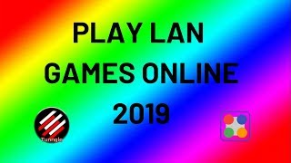HOW TO PLAY ANY GAME ONLINE FOR FREE | PLAY LAN GAMES ONLINE