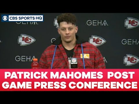 Patrick Mahomes Post Game Press Conference: AFC Divisional Round   CBS Sports HQ
