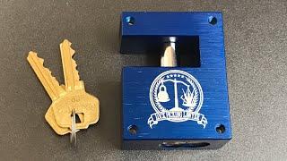 [580] PacLock Block-Lock Prototype - Review, Pick, and Melt