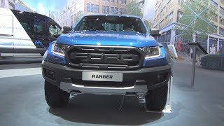 Ford Ranger Raptor 2.0 TDCi 213 hp 10AT Double Cab (2019) Exterior and Interior
