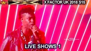 "Dalton Harris ""Life Of Mars"" AMAZING VOCALS The Boys | Live Shows 1 X Factor UK 2018"