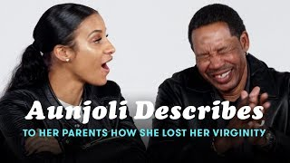 Aunjoli Tells Her Parents How She Lost Her Virginity | People Describe | Cut