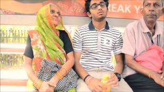 A Short Story of Kindness in 2 min:  Young Man Gives Old Lady Seat on Bus, in New Delhi