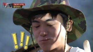 진짜 사나이- 류 셰프의 '삼겹살 홍게 삼합!' 12회 #14 20130630