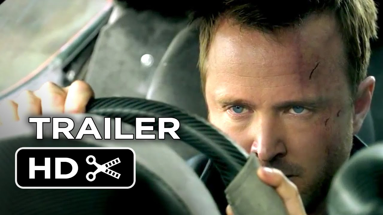 Need For Speed Official Trailer 1 2014 Aaron Paul
