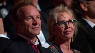 Sting Receives The Polar Music Prize 2017