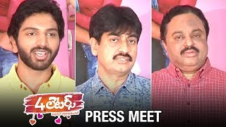 4 Letters Movie Press Meet | Eswar | Tuya Chakraborthy | Anketa Maharana | 2019 Latest Telugu Movies