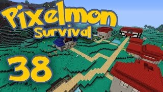 Pixelmon Survival [Part 38] - Mr. & Mrs. Gyarados