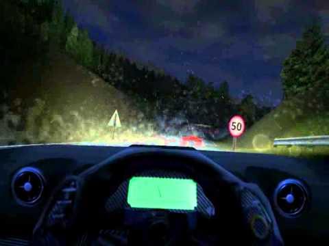 Toyota GT1 na Landstrasse, com chuva e mod para noites