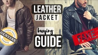 Tips To Buying The Perfect Leather Jacket | How To Buy Your First Leather Jacket | Mens Fashion Tips