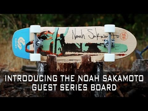 Comet Skateboards // Guest Model Noah Sakamoto