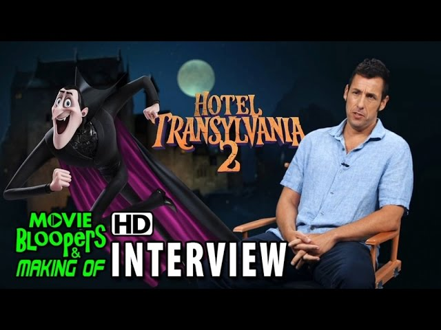 Hotel Transylvania 2 (2015) Behind the Scenes Movie Interview - Adam Sandler is 'Dracula'