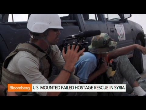 U.S. Mounted Failed Rescue of James Foley, Other Hostages
