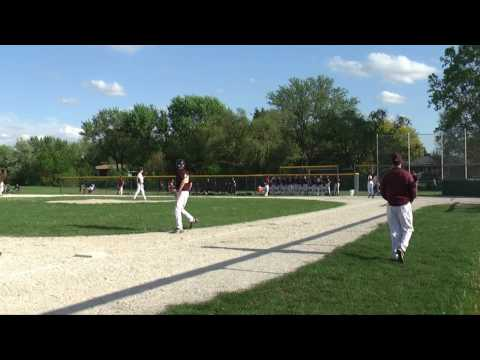 Oak Forest Baseball: Oak Forest Freshmen vs Lockport 5-3-10 Inning 1